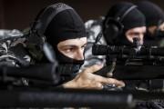 Treinamento dos atiradores de precisão (sniper policial) das policias Militar e Civil. Curitiba, 10/03/2015. Foto: Pedro Ribas/ANPr